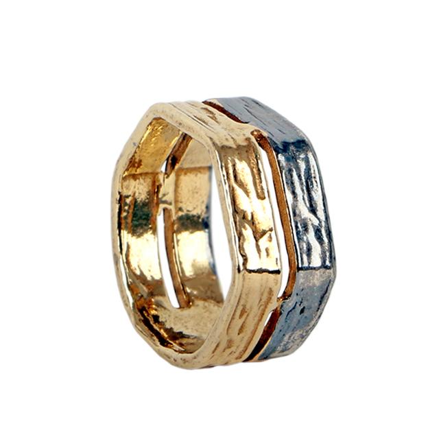 Prata Dourada /Oxidada